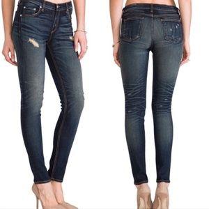 Rag & Bone distressed Skinny Sheffield Jeans